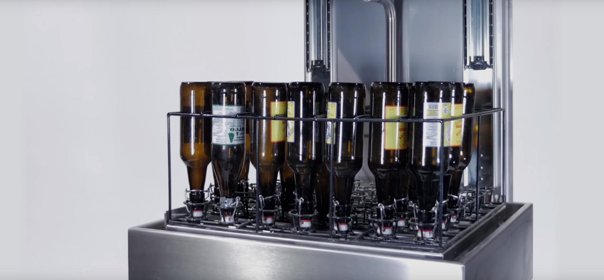 Rincage de bouteilles
