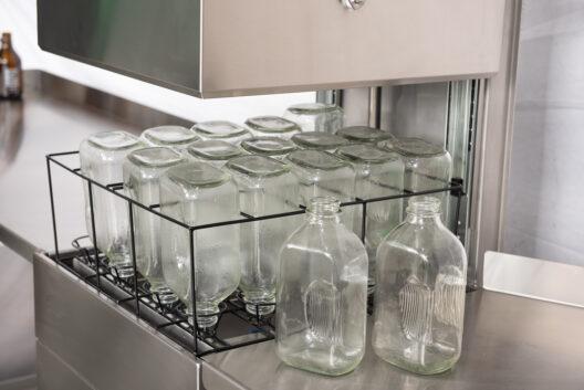Lave bouteille laitier