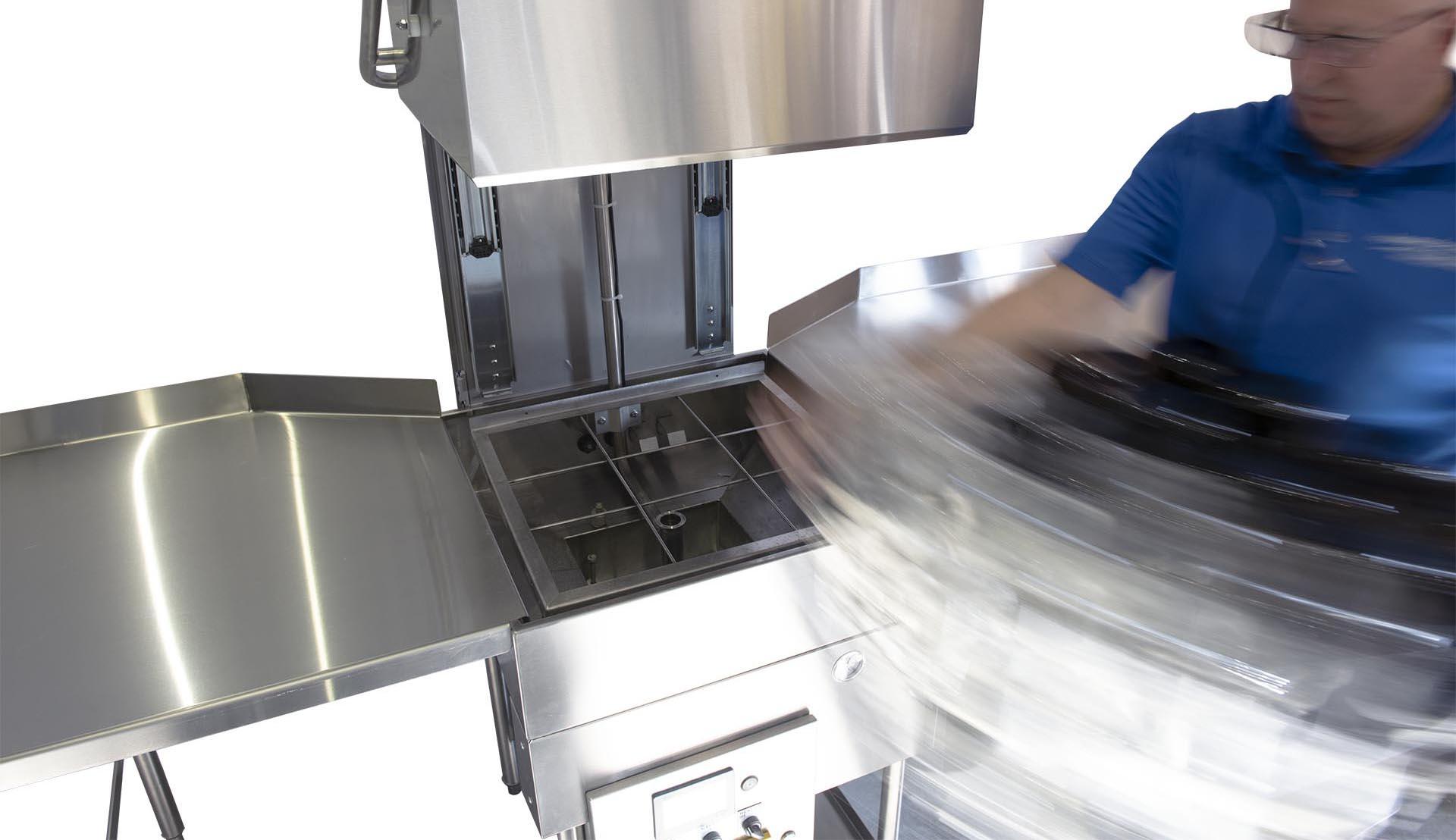 Machine à laver les bouteilles automatique