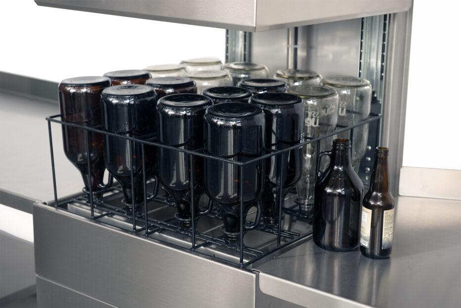 Laveur de bouteilles de bières