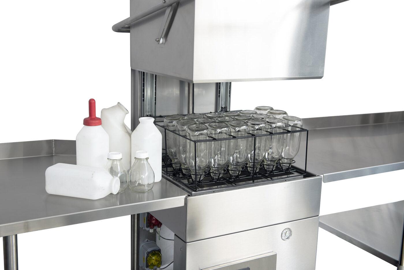 Machine lave bouteilles pour fermes laitier